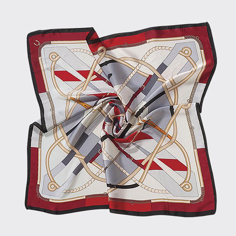 Γυναικεία αξεσουάρ φουλάρι silk feeling Αξεσουάρ λαιμού Αξεσουάρ τσάντας Αξεσουάρ ζώνης Αξεσουάρ μαλλιών