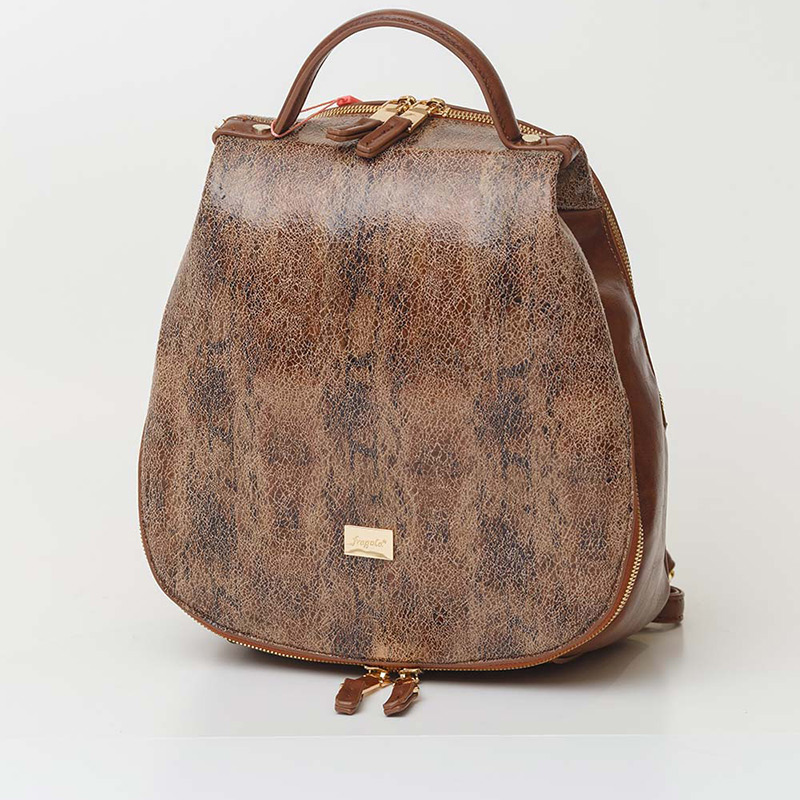 Τυναίκεια τσάντα backbag ρετρό retro σακίδιο πλάτης τσάντα eco τεχνόδερμα