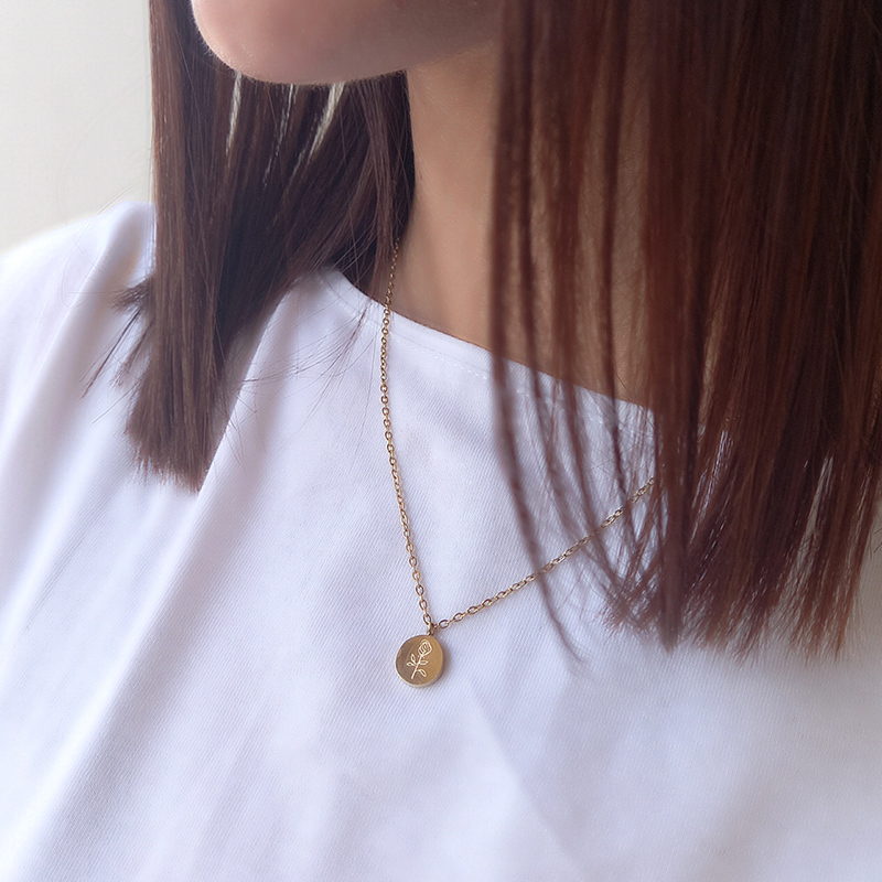 jewels kallirroi gr faux bijoux piraeus eshop on line φο μπιζού κολιέ αλυσίδας ατσάλινο χρυσό